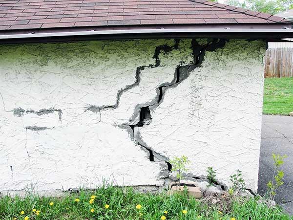 Defectos en los cimientos en obra nueva