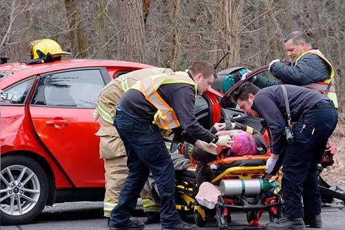 colaboración de la víctima no culpable en un accidente de tráfico