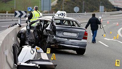 Accidentes de tráfico con lesionados